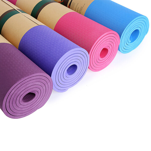Wholesale Eco-friendly Health Custom Patterns Fitness Exercise Mats Yoga Mat